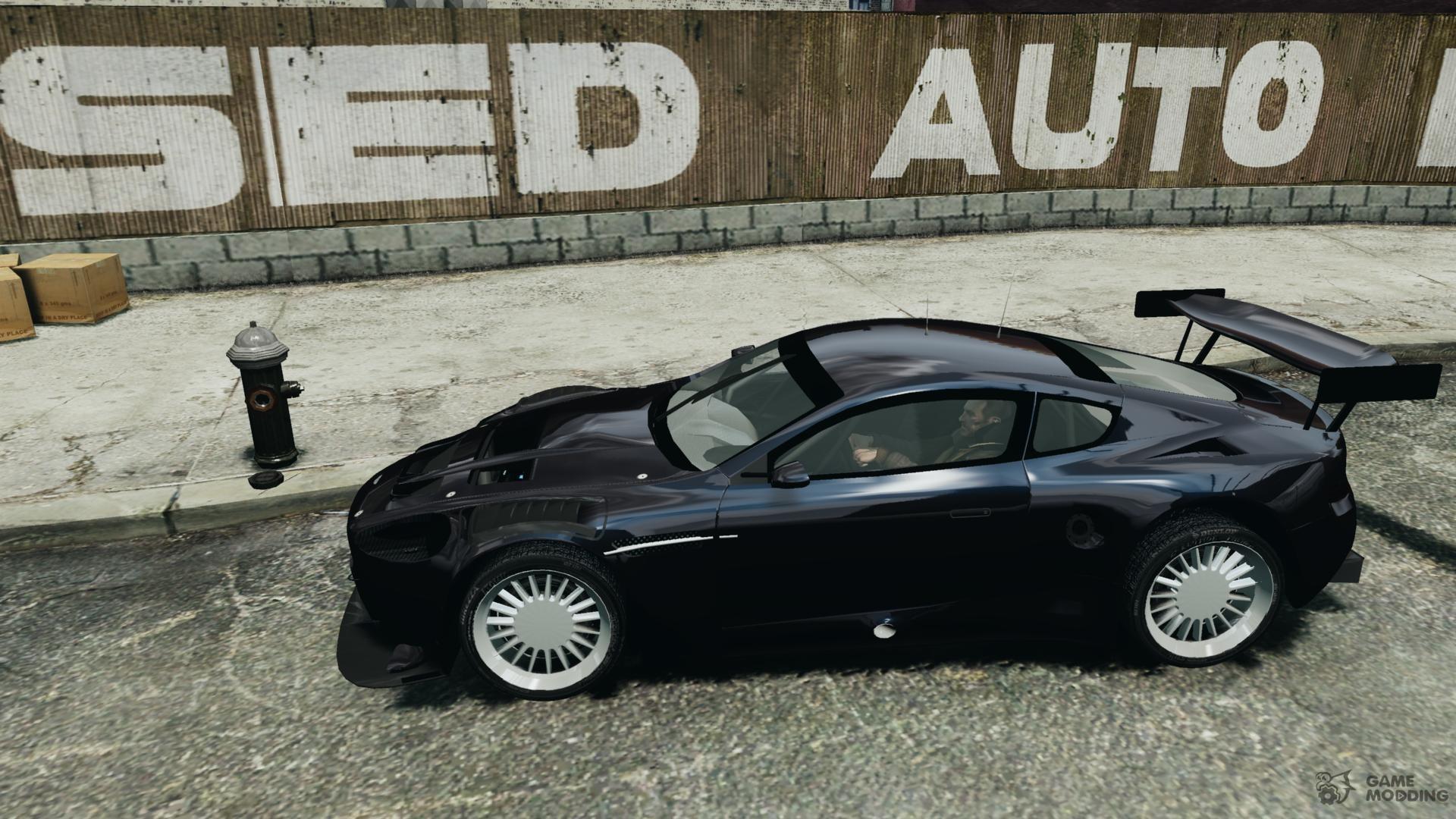 Aston Martin Db9 Gtr Sport Nfs Undercover For Gta 4