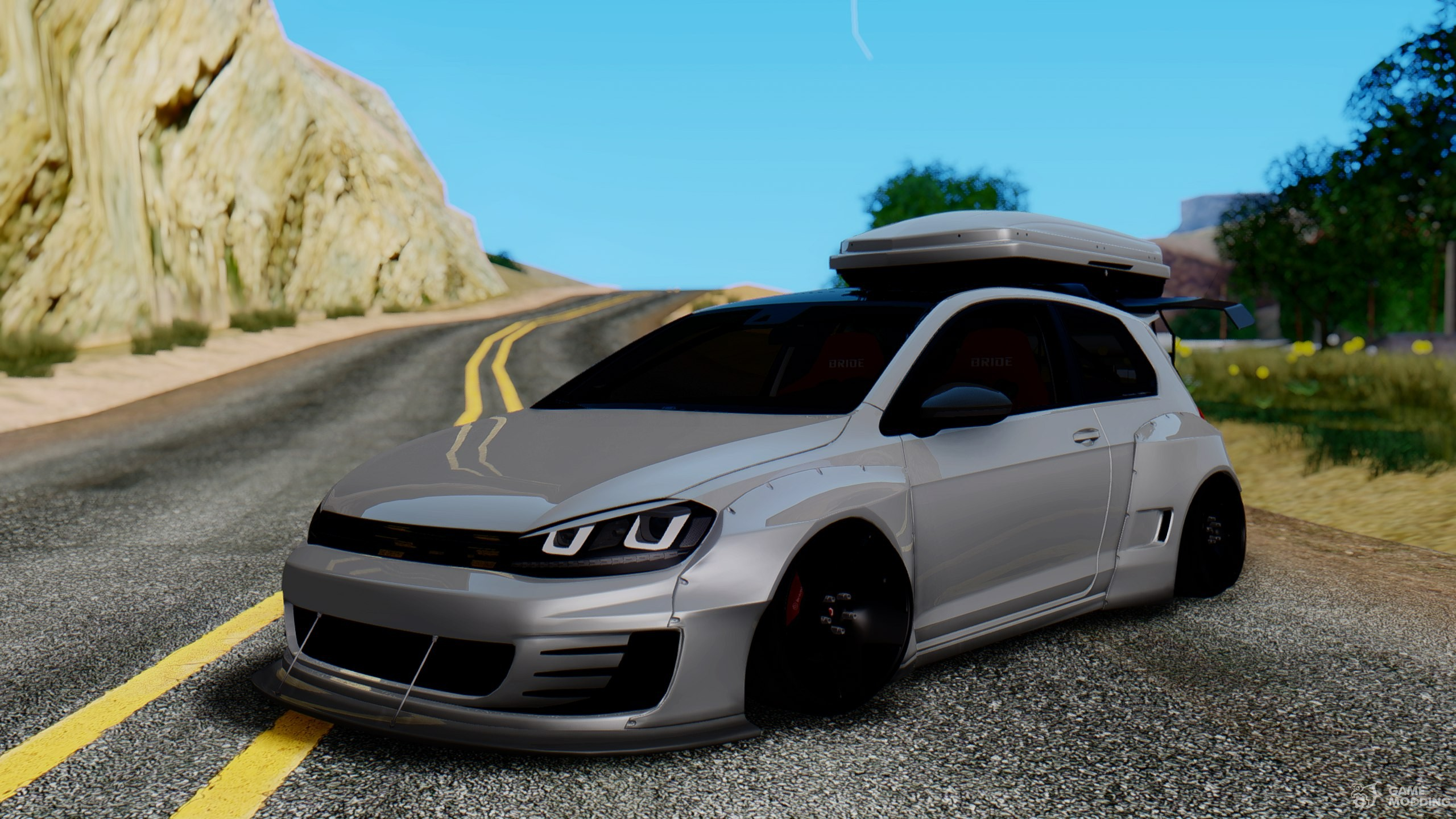 Volkswagen Golf R Pandem Rocket Bunny for GTA San Andreas