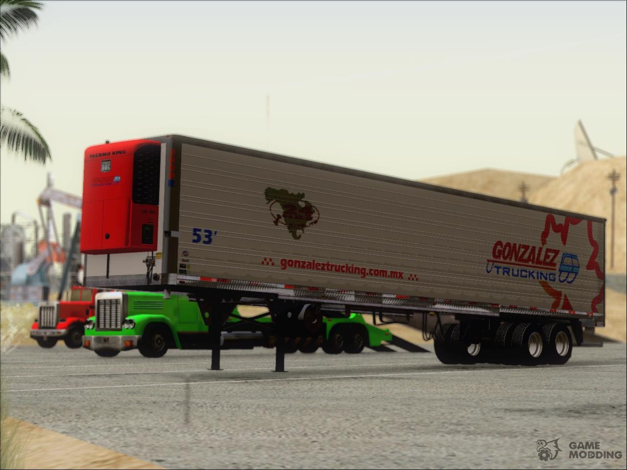 trailer gonzalez trucking for gta san andreas. Black Bedroom Furniture Sets. Home Design Ideas