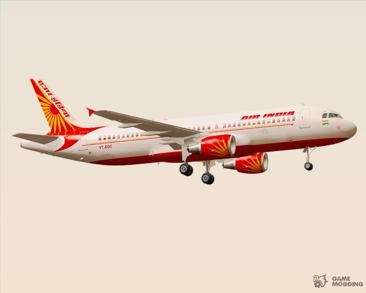 Airbus A320-200 Air India for GTA San Andreas