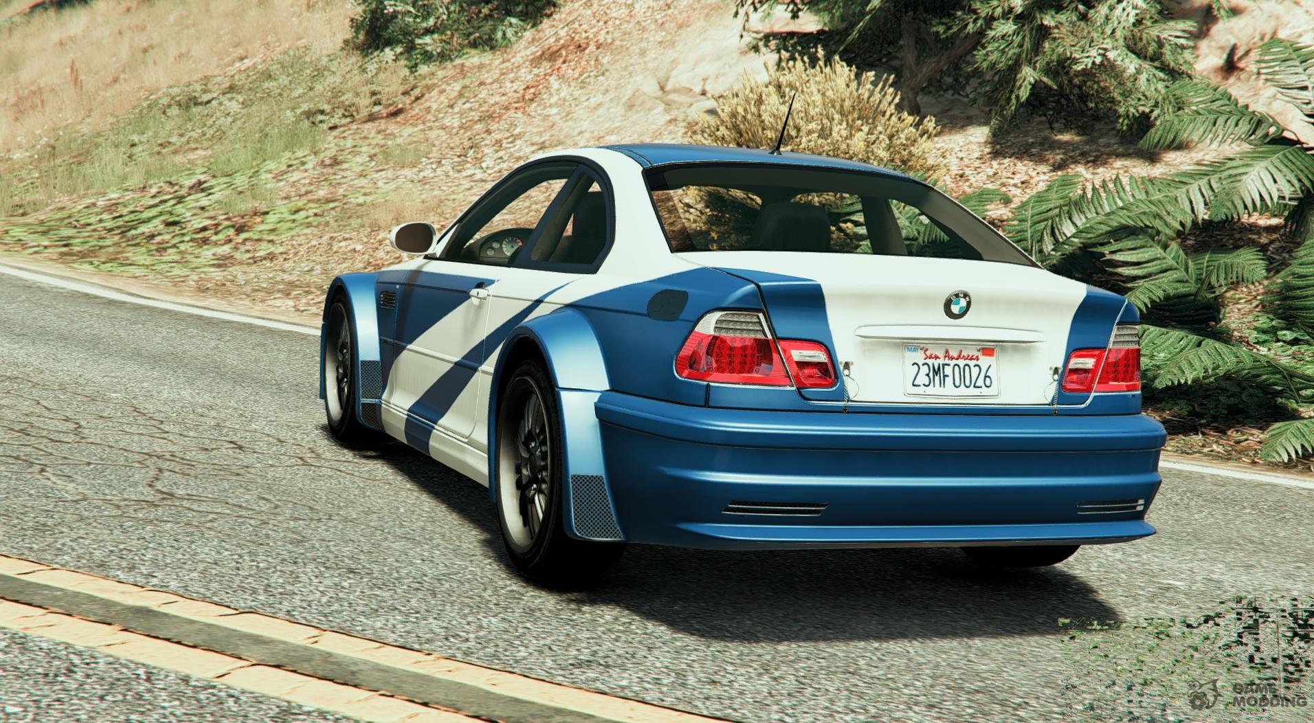 El Bmw M3 Gtr E46 Most Wanted 1 3 Para Gta 5