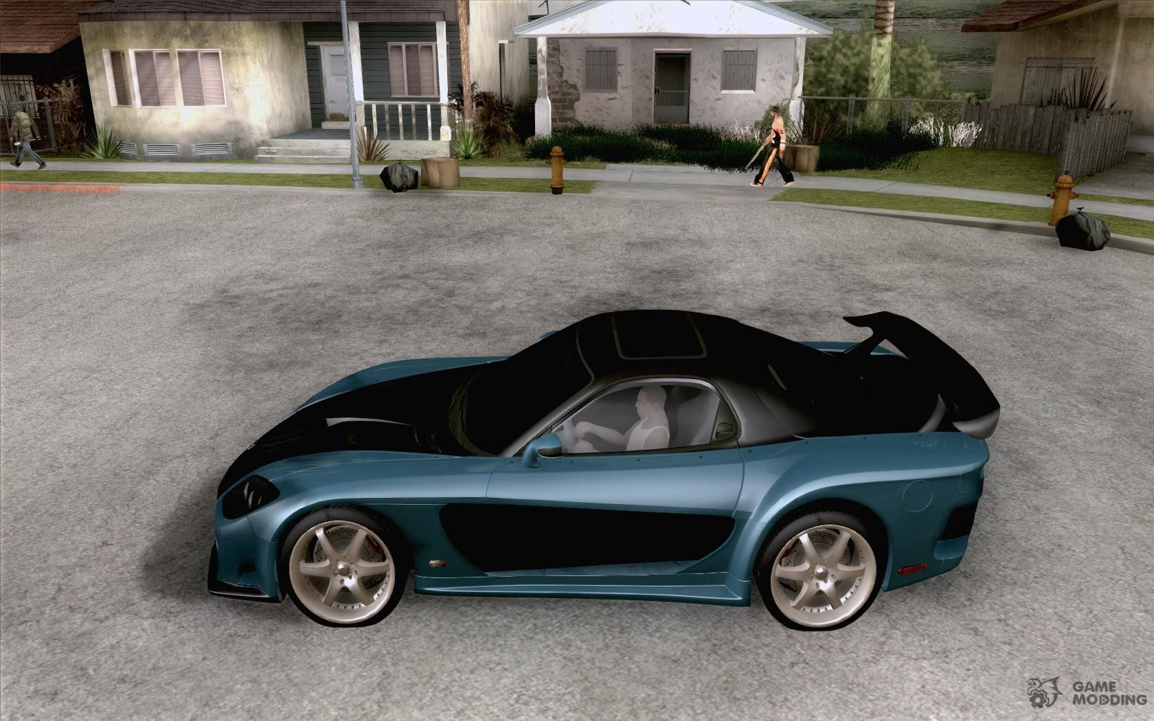 mazda rx7 fast and furious 6. mazda rx 7 veilside for gta san andreas left view rx7 fast and furious 6
