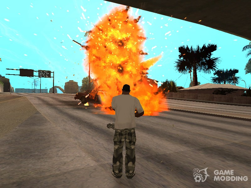 Project Overhaul-Particles and Effects Final for GTA San Andreas