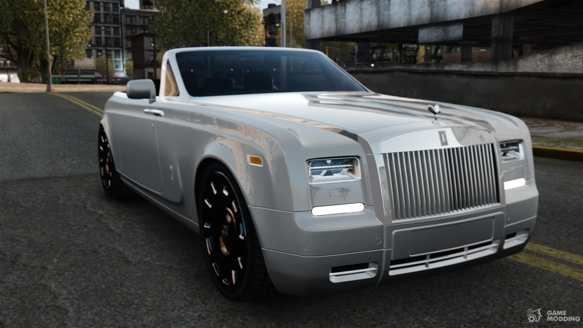 rolls royce phantom convertible 2012 for gta 4. Black Bedroom Furniture Sets. Home Design Ideas