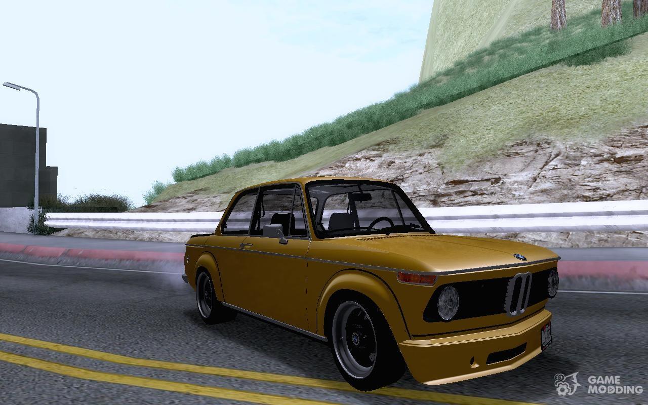 BMW turbo bmw 2002 : BMW 2002 Turbo for GTA San Andreas