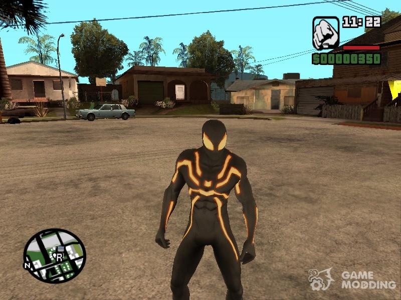 скачать мод на Spider Man для Gta San Andreas - фото 5