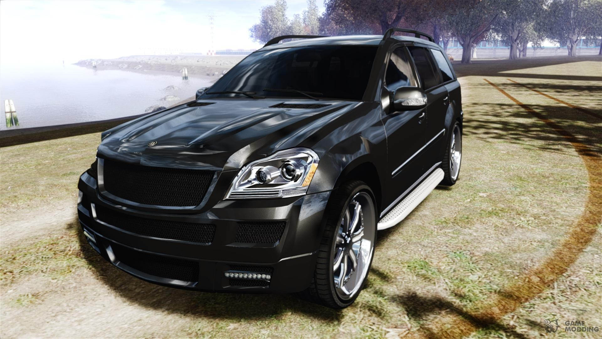 Mercedes benz gl450 brabus black edition for gta 4 for Mercedes benz ml 450