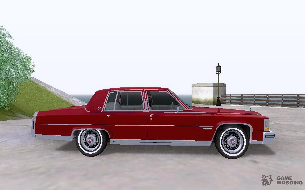 Cadillac Fleetwood Brougham 1985 for GTA San Andreas