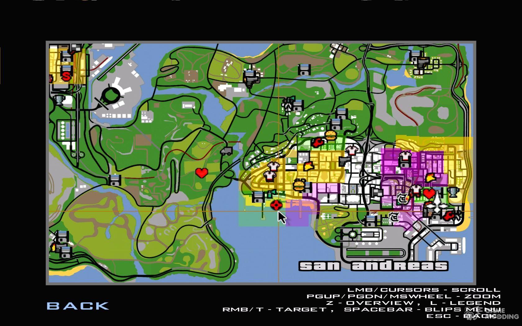 Новые Карты для GTA San Andreas