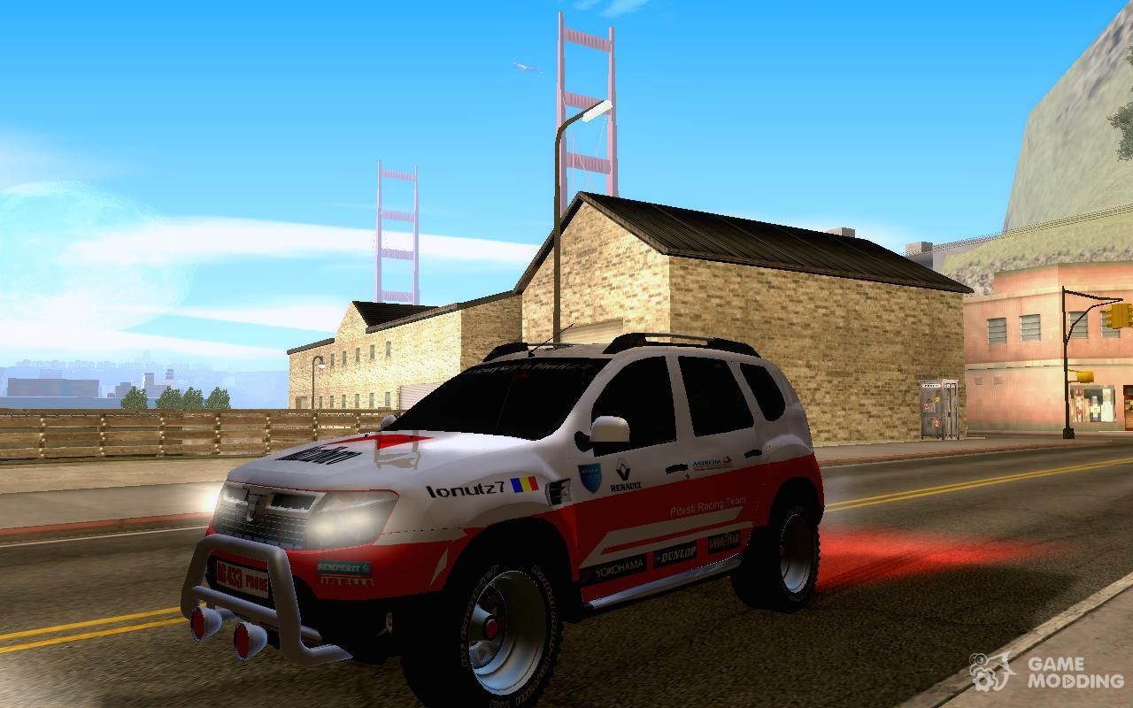 Daewoo Dacia Duster Rally for GTA San Andreas