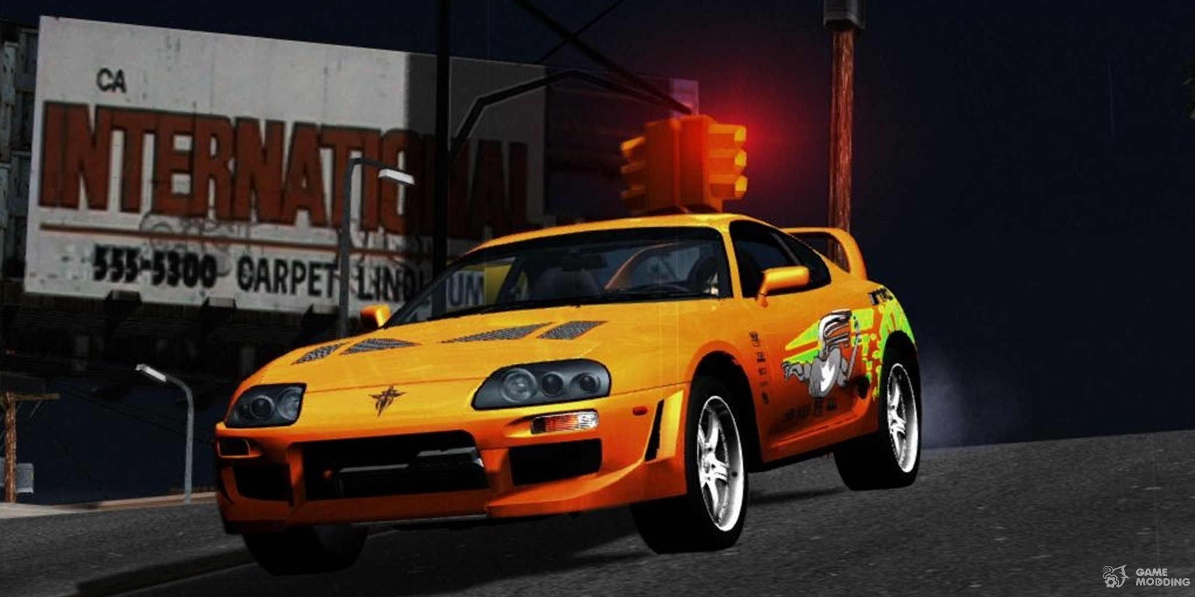 1995 Toyota Supra The Fast And The Furious For Gta San Andreas