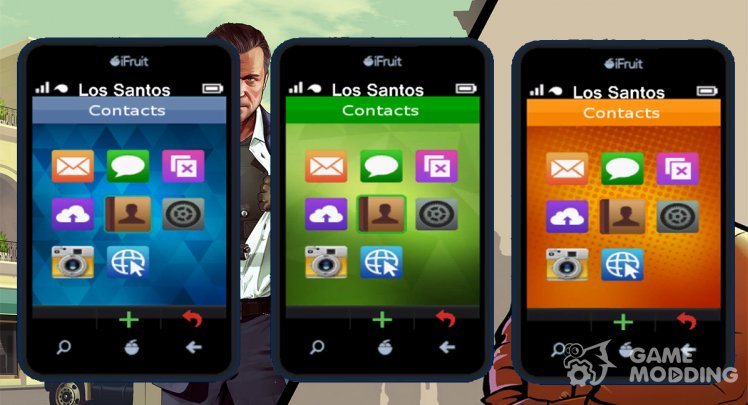 Michael GTA V Phone