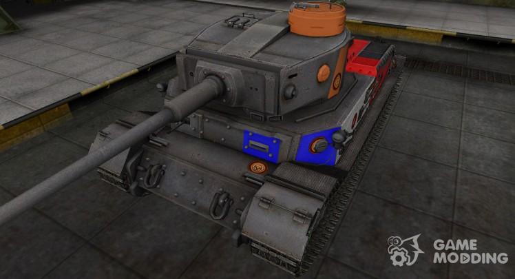 Качественный скин для PzKpfw VI Tiger (P)