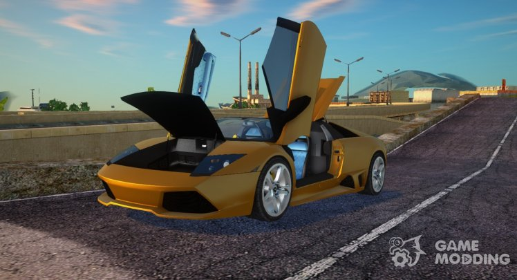 Lamborghini Murcielago LP640 Roadster for GTA San Andreas
