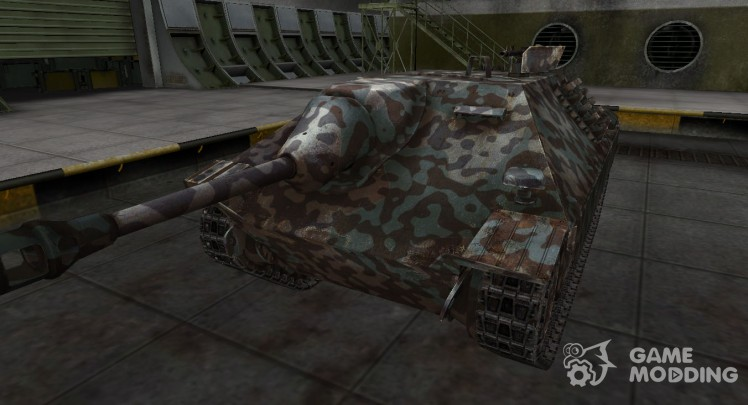 Mountain camouflage for Hetzer