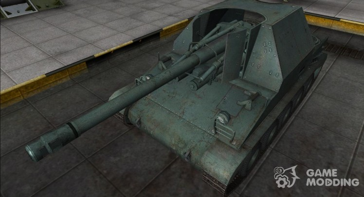 Remodeling for tank Lorraine 155 50