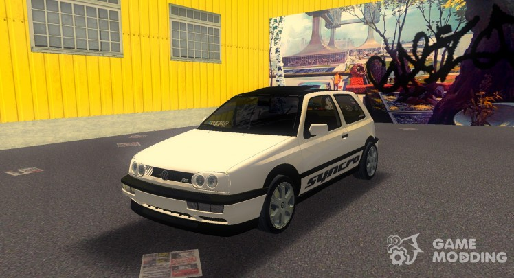 Volkswagen Golf 3 ABT VR6 Turbo Syncro