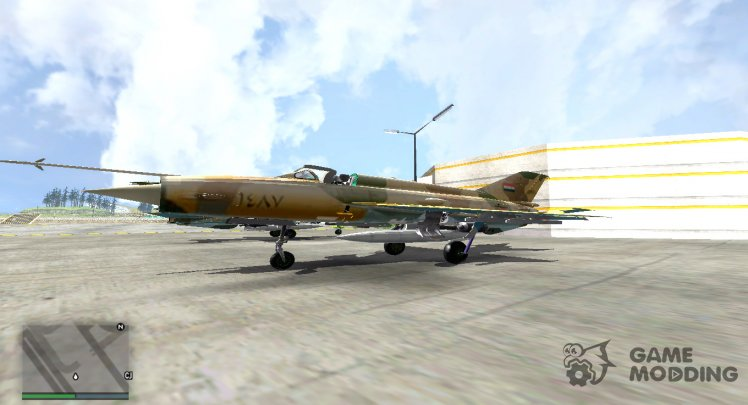 Mig-21 Syrian Army Aviation