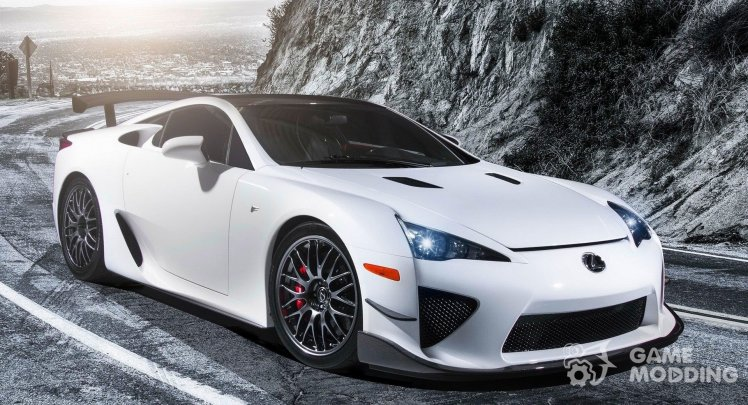 Real Lexus LFA Sounds