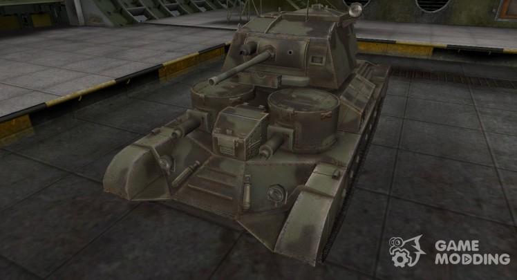 Пустынный скин для Cruiser Mk. I