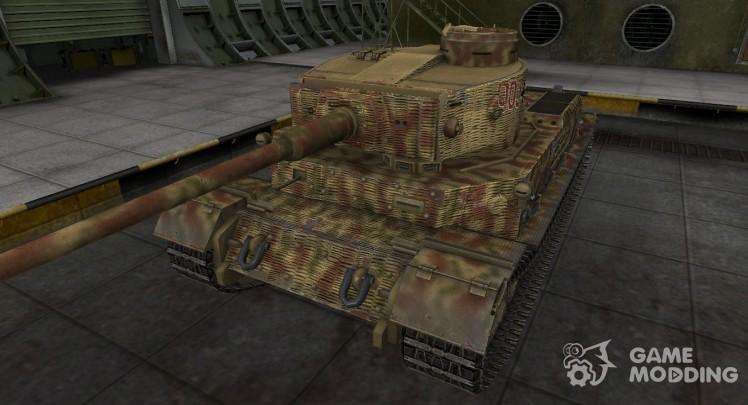 Исторический камуфляж PzKpfw VI Tiger (P)