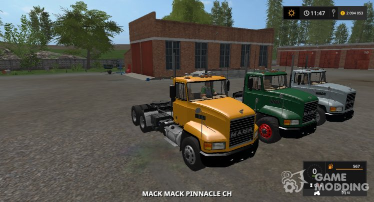 Pinnacle Mack CH613 DAY CAB version 1.1