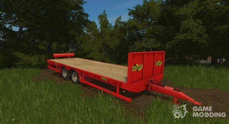 Herbst 24FT Flat Bed Trailer