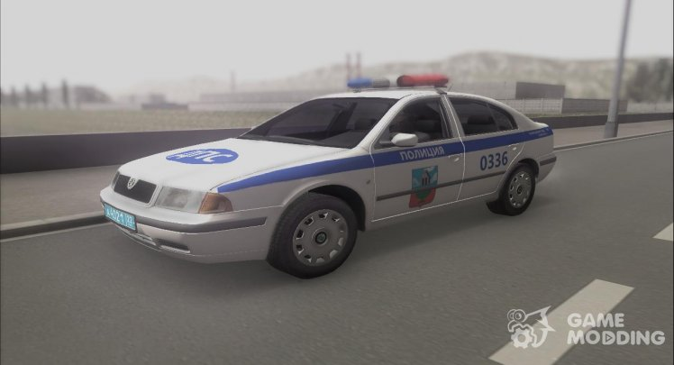 Skoda Octavia traffic police of the Altai territory of Russia
