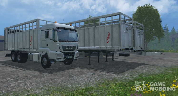 Fliegl Animal Transport Pack