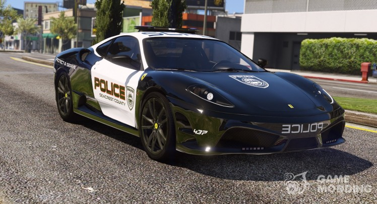 Ferrari F430 Scuderia Hot Pursuit Police