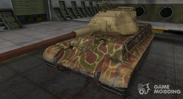 Исторический камуфляж PzKpfw VIB Tiger II