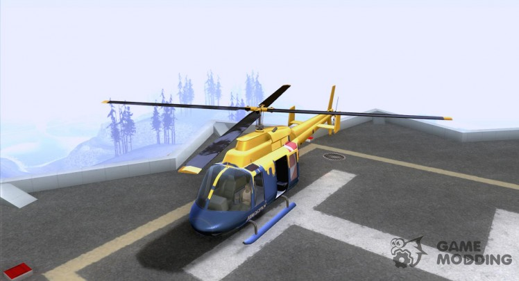 Helitours Maverick in GTA 4