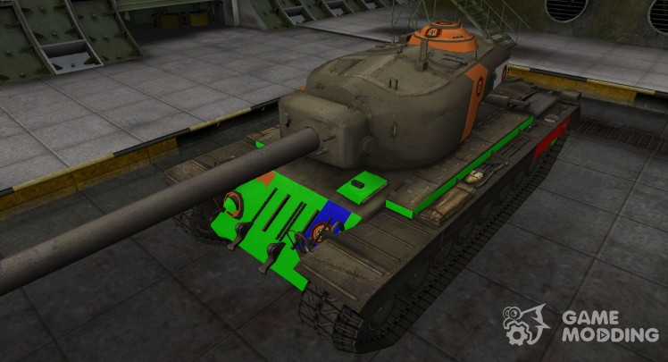 High-quality skin for T34
