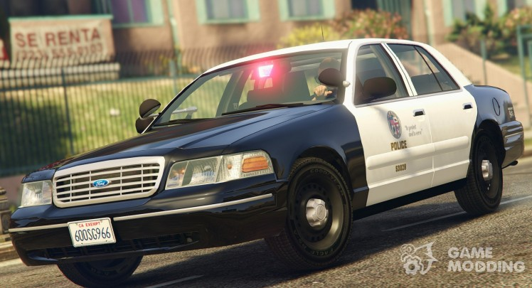1998 Ford Crown Victoria P71-LAPD Gang Unit 1.1