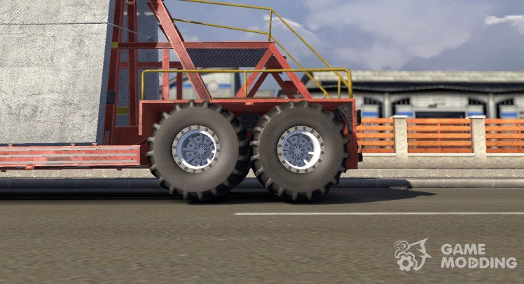 Off-road wheels for default trailers