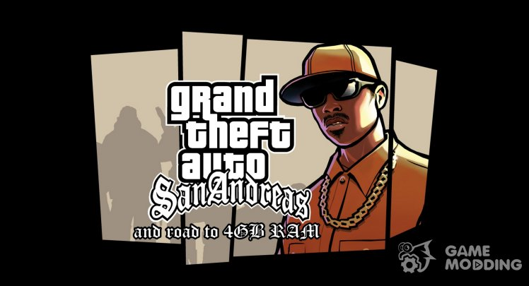 Clean gta_sa.exe us 1.0 4GB and more