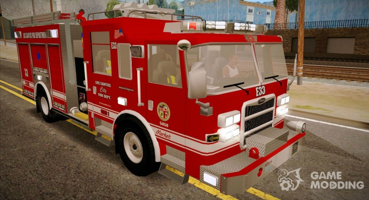 Pierce Arrow XT 2008 Los Santos Fire Department