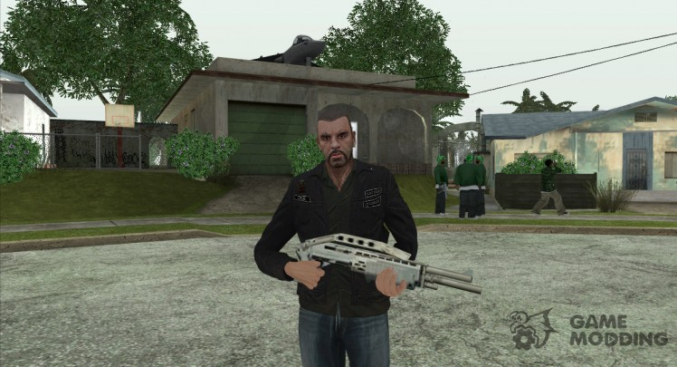 Johnny Klebitz From GTA V (With normal head)