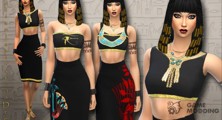 Egyptian Ispiration Dress