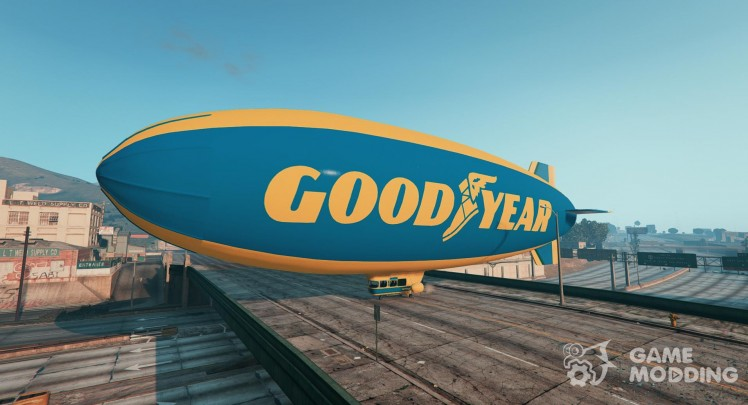 Goodyear Blimp текстуры