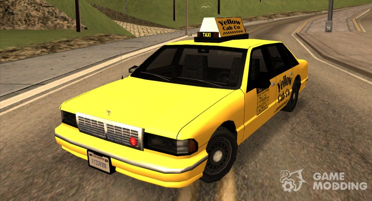 1992 Chevrolet Yellow Cab Co Taxi Sa Style