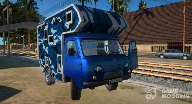 UAZ-39094 House on wheels