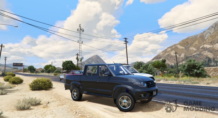 UAZ Patriot Pickup (Tuning)