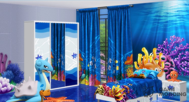 Ocean Kids Bedroom