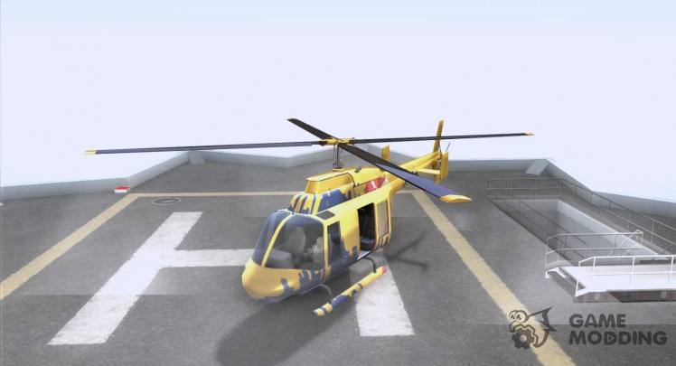 The sightseeing helicopter out of gta 4
