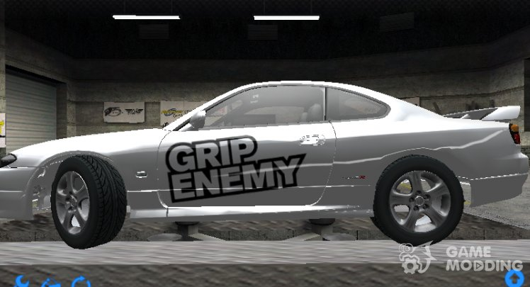 Decal Grip Enemy