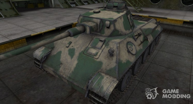 Skin for German tank VK 30.01 (D)