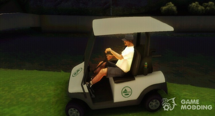 GTA V Caddy Golf