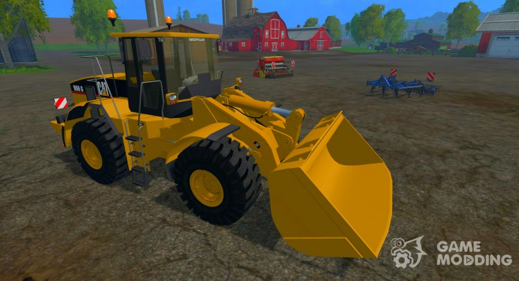 CAT 966 g WHEEL LOADER