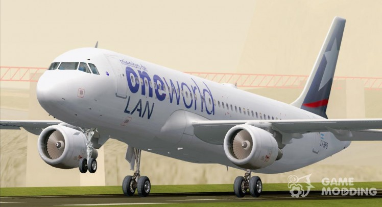Airbus A320-200 LAN Argentina-Oneworld Alliance Livery (LV-BFO)